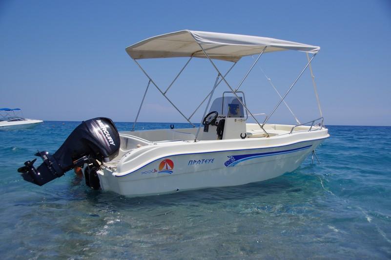 kalathos rent boat