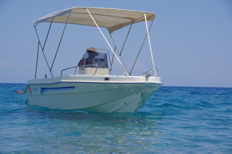 rental boats kalathos
